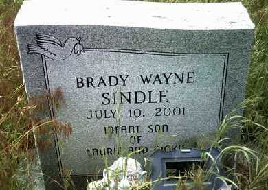 SINDLE, BRADY WAYNE - Jackson County, Arkansas | BRADY WAYNE SINDLE - Arkansas Gravestone Photos
