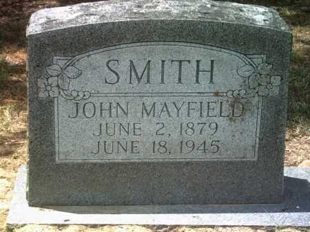 SMITH, JOHN MAYFIELD - Jackson County, Arkansas | JOHN MAYFIELD SMITH - Arkansas Gravestone Photos