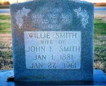 SMITH, WILLIE - Jackson County, Arkansas | WILLIE SMITH - Arkansas Gravestone Photos