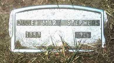 STEPHENS (PIC2), OLLIE MARY - Jackson County, Arkansas | OLLIE MARY STEPHENS (PIC2) - Arkansas Gravestone Photos