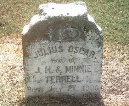 TERRELL, JULIUS OSCAR - Jackson County, Arkansas | JULIUS OSCAR TERRELL - Arkansas Gravestone Photos