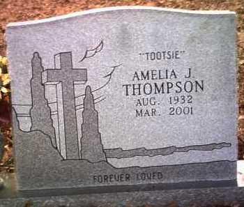 THOMPSON, AMELIA J - Jackson County, Arkansas | AMELIA J THOMPSON - Arkansas Gravestone Photos