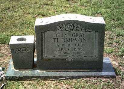 THOMPSON, BILLY GRAY - Jackson County, Arkansas | BILLY GRAY THOMPSON - Arkansas Gravestone Photos