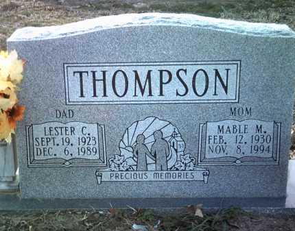 THOMPSON, LESTER C - Jackson County, Arkansas | LESTER C THOMPSON - Arkansas Gravestone Photos