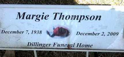 THOMPSON, MARGIE - Jackson County, Arkansas | MARGIE THOMPSON - Arkansas Gravestone Photos