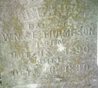 THOMPSON (PIC2), INFANT DAUGHTER - Jackson County, Arkansas   INFANT DAUGHTER THOMPSON (PIC2) - Arkansas Gravestone Photos