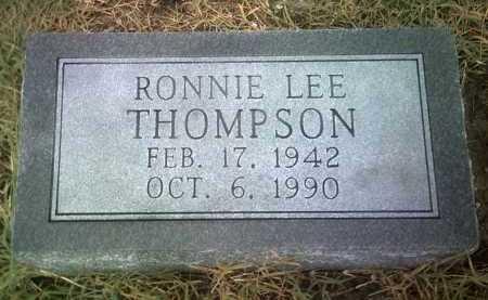 THOMPSON, RONNIE LEE - Jackson County, Arkansas   RONNIE LEE THOMPSON - Arkansas Gravestone Photos
