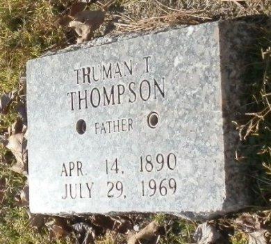 THOMPSON, TRUMAN T. - Jackson County, Arkansas   TRUMAN T. THOMPSON - Arkansas Gravestone Photos