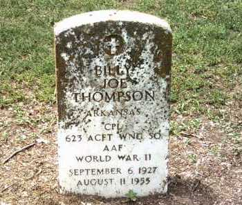 THOMPSON (VETERAN WWII), BILLY JOE - Jackson County, Arkansas | BILLY JOE THOMPSON (VETERAN WWII) - Arkansas Gravestone Photos