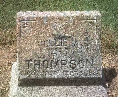 THOMPSON, WILLIE A - Jackson County, Arkansas | WILLIE A THOMPSON - Arkansas Gravestone Photos