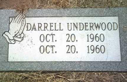 UNDERWOOD, DARRELL - Jackson County, Arkansas | DARRELL UNDERWOOD - Arkansas Gravestone Photos