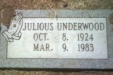UNDERWOOD, JULIOUS - Jackson County, Arkansas | JULIOUS UNDERWOOD - Arkansas Gravestone Photos