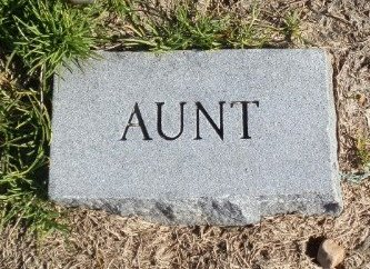 UNKNOWN, AUNT - Jackson County, Arkansas | AUNT UNKNOWN - Arkansas Gravestone Photos