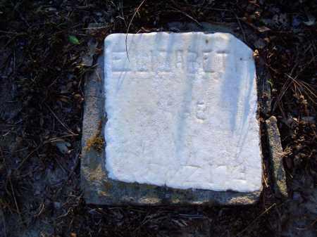 UNKNOWN, ELIZABETH - Jackson County, Arkansas | ELIZABETH UNKNOWN - Arkansas Gravestone Photos