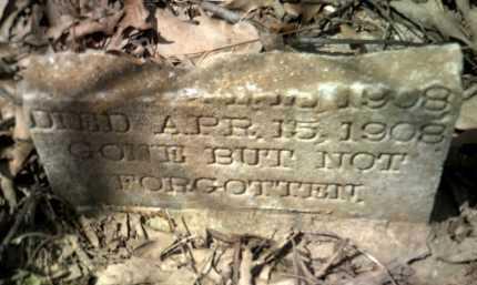 UNKNOWN, INFANT - Jackson County, Arkansas   INFANT UNKNOWN - Arkansas Gravestone Photos