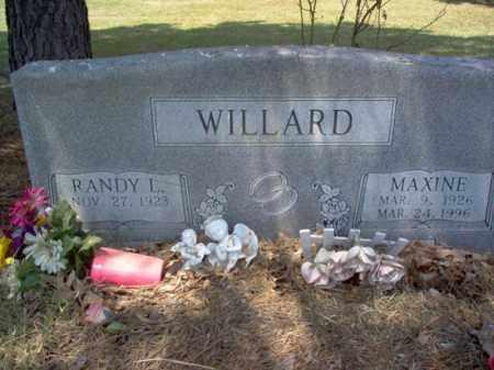 WILLARD, RANDOLPH L - Jackson County, Arkansas | RANDOLPH L WILLARD - Arkansas Gravestone Photos