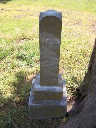 WILLIAMS, J H - Jackson County, Arkansas   J H WILLIAMS - Arkansas Gravestone Photos