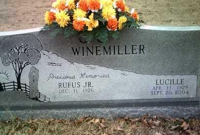 WINEMILLER, LUCILLE - Jackson County, Arkansas | LUCILLE WINEMILLER - Arkansas Gravestone Photos