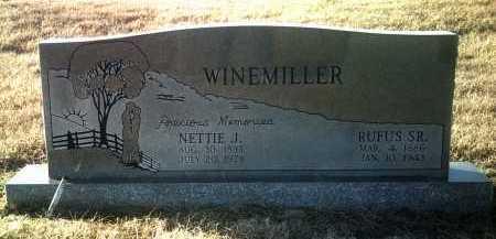 WINEMILLER, NETTIE J - Jackson County, Arkansas   NETTIE J WINEMILLER - Arkansas Gravestone Photos