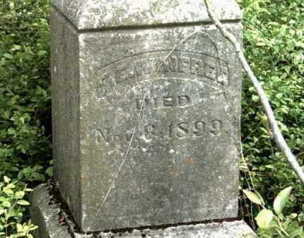 WINFREE, F E - Jackson County, Arkansas   F E WINFREE - Arkansas Gravestone Photos