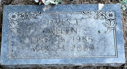 ALLEN, JAMES THARNELL - Jefferson County, Arkansas | JAMES THARNELL ALLEN - Arkansas Gravestone Photos