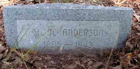 ANDERSON, SILVIE - Jefferson County, Arkansas | SILVIE ANDERSON - Arkansas Gravestone Photos
