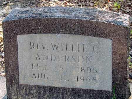 ANDERSON, WILLIE C, REV - Jefferson County, Arkansas | WILLIE C, REV ANDERSON - Arkansas Gravestone Photos