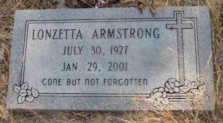ARMSTRONG, LONZETTA - Jefferson County, Arkansas | LONZETTA ARMSTRONG - Arkansas Gravestone Photos