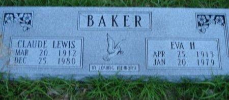 HANDLEY BAKER, EVA - Jefferson County, Arkansas   EVA HANDLEY BAKER - Arkansas Gravestone Photos