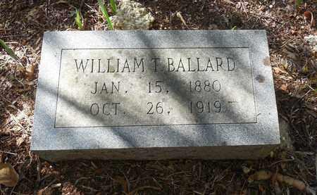 BALLARD, WILLIAM TAYLOR - Jefferson County, Arkansas | WILLIAM TAYLOR BALLARD - Arkansas Gravestone Photos