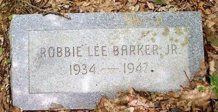 BARKER, ROBBIE LEE - Jefferson County, Arkansas | ROBBIE LEE BARKER - Arkansas Gravestone Photos