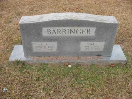 BARRINGER, LENA L - Jefferson County, Arkansas | LENA L BARRINGER - Arkansas Gravestone Photos