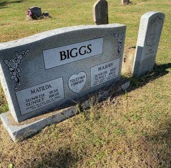 BIGGS, MATILDA - Jefferson County, Arkansas   MATILDA BIGGS - Arkansas Gravestone Photos