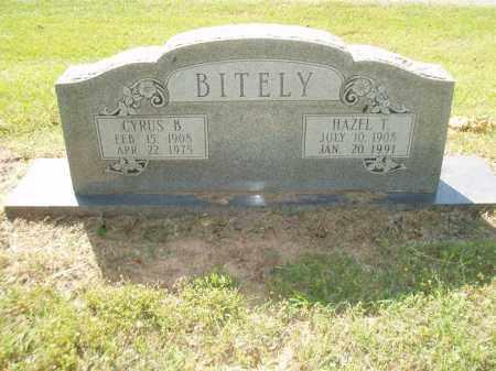 BITELY, CYRUS B - Jefferson County, Arkansas | CYRUS B BITELY - Arkansas Gravestone Photos
