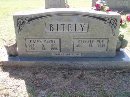 BITELY, GALEN BEYRL - Jefferson County, Arkansas | GALEN BEYRL BITELY - Arkansas Gravestone Photos