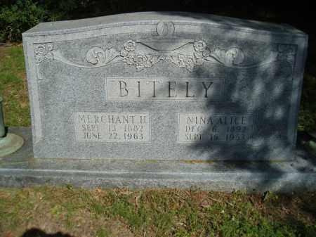 BITELY, MERCHANT H - Jefferson County, Arkansas | MERCHANT H BITELY - Arkansas Gravestone Photos