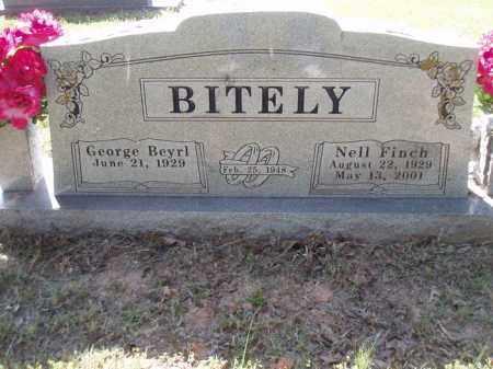 FINCH BITELY, NELL - Jefferson County, Arkansas | NELL FINCH BITELY - Arkansas Gravestone Photos