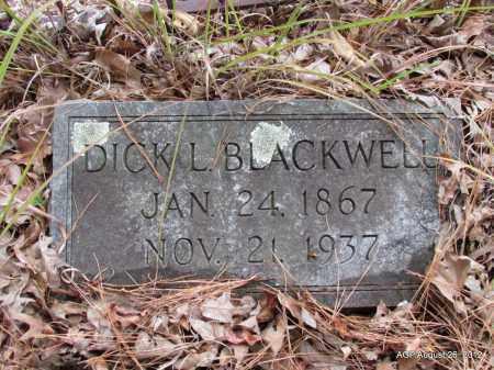BLACKWELL, DICK L - Jefferson County, Arkansas   DICK L BLACKWELL - Arkansas Gravestone Photos
