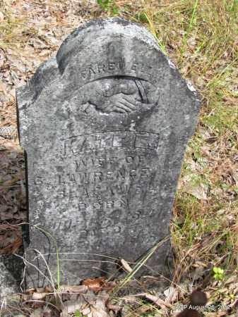 BLACKWELL, KATE E - Jefferson County, Arkansas | KATE E BLACKWELL - Arkansas Gravestone Photos