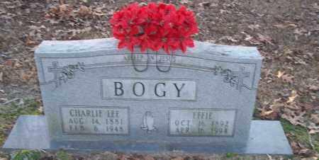 BOGY, EFFIE - Jefferson County, Arkansas | EFFIE BOGY - Arkansas Gravestone Photos
