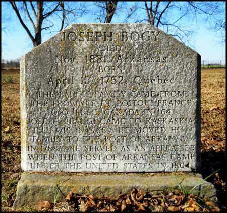 BOGY, JOSEPH - Jefferson County, Arkansas   JOSEPH BOGY - Arkansas Gravestone Photos