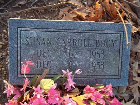 BOGY, SUSAN CARROLL - Jefferson County, Arkansas   SUSAN CARROLL BOGY - Arkansas Gravestone Photos