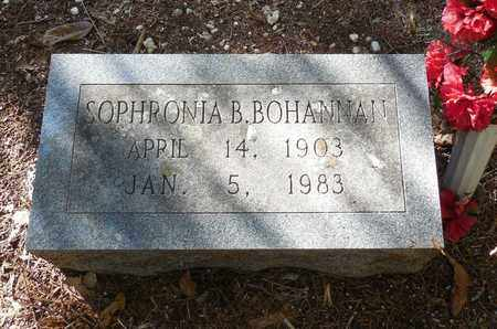 BALLARD BOHANNAN, SOPHRONIA - Jefferson County, Arkansas   SOPHRONIA BALLARD BOHANNAN - Arkansas Gravestone Photos