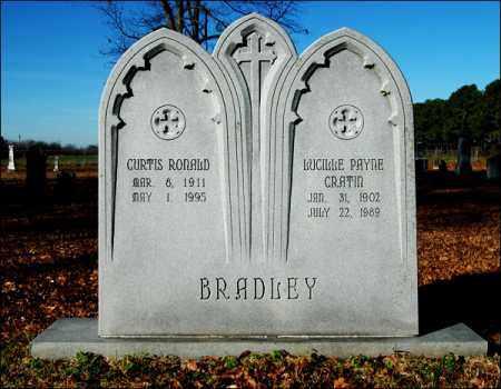 BRADLEY, LUCILLE PAYNE CRATIN - Jefferson County, Arkansas | LUCILLE PAYNE CRATIN BRADLEY - Arkansas Gravestone Photos