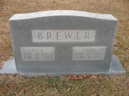 BREWER, JACK - Jefferson County, Arkansas   JACK BREWER - Arkansas Gravestone Photos
