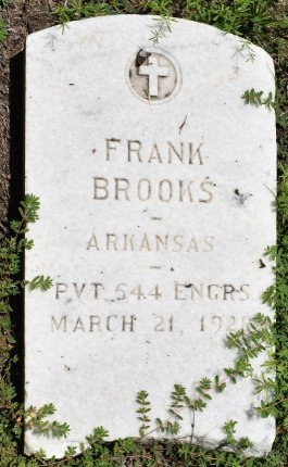 BROOKS (VETERAN WWI), FRANK - Jefferson County, Arkansas | FRANK BROOKS (VETERAN WWI) - Arkansas Gravestone Photos