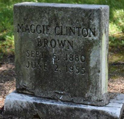 CLINTON BROWN, MAGGIE - Jefferson County, Arkansas | MAGGIE CLINTON BROWN - Arkansas Gravestone Photos