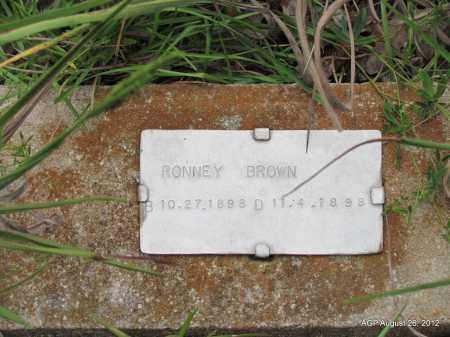 BROWN, RONNEY - Jefferson County, Arkansas   RONNEY BROWN - Arkansas Gravestone Photos