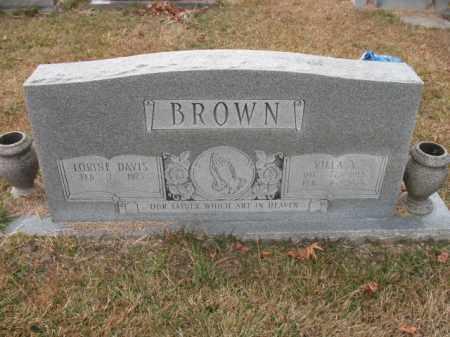 BROWN, VILLA V - Jefferson County, Arkansas | VILLA V BROWN - Arkansas Gravestone Photos