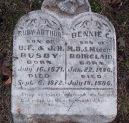 BOIRCLAIR, BENNIE C - Jefferson County, Arkansas | BENNIE C BOIRCLAIR - Arkansas Gravestone Photos